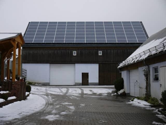 ドイツの太陽光パネル