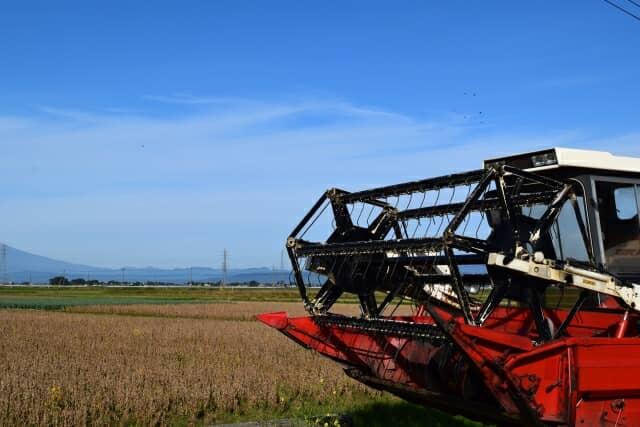 畑の農業機械