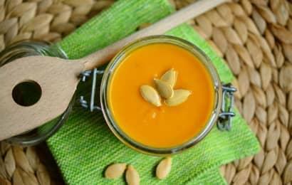 かぼちゃスープとかぼちゃの種
