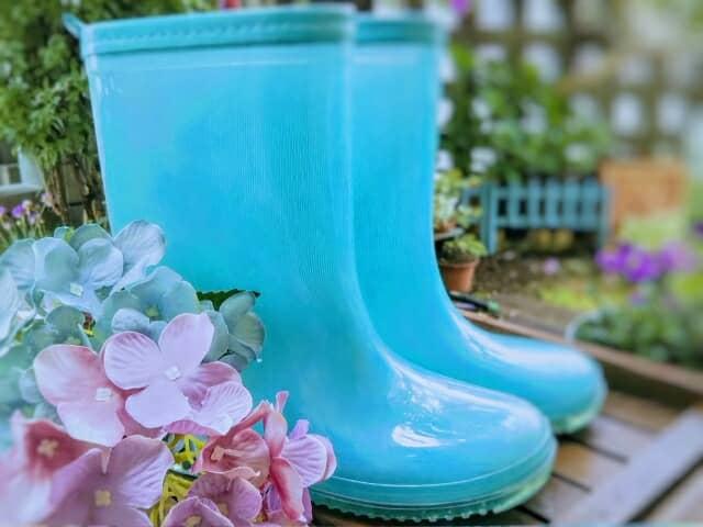 雨の日は足元からおしゃれに!