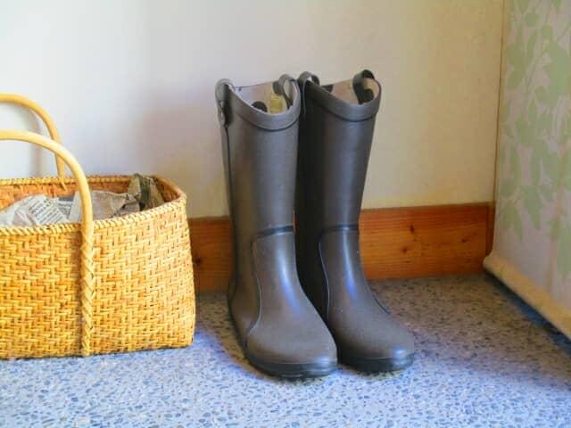 レディースレインブーツ(長靴)の選び方