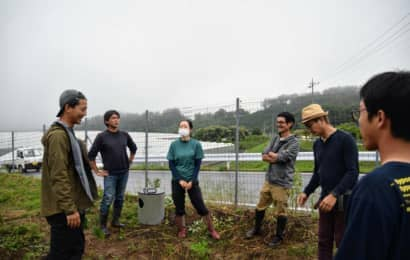 久松農園視察