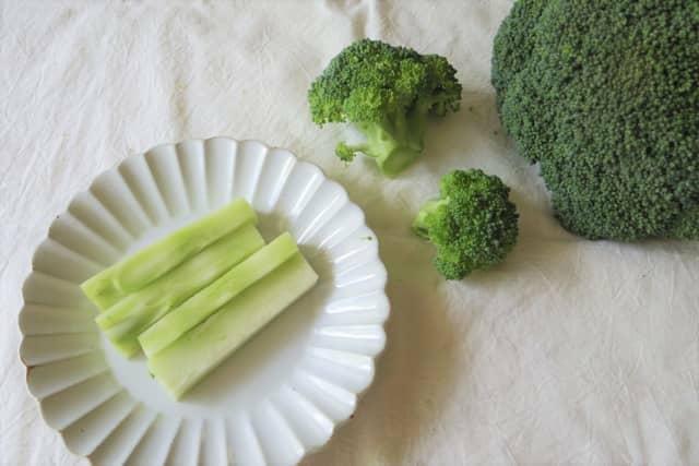 ブロッコリー 茎
