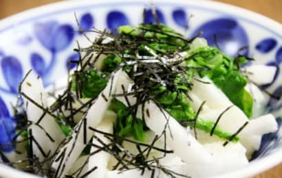 長芋 和え物
