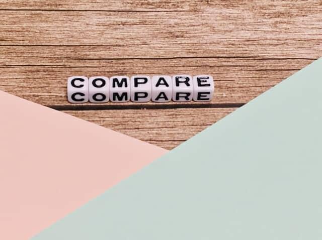 AとBを比較する