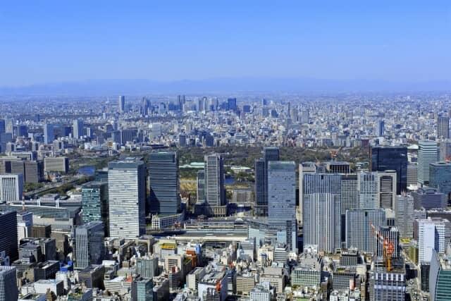 高層ビル風景