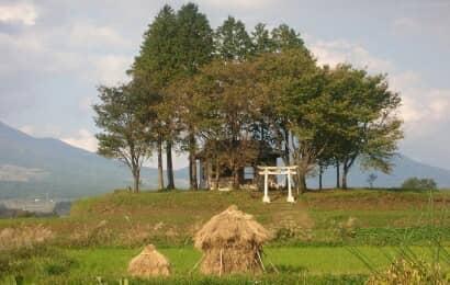南阿蘇の農村