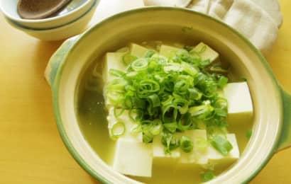 ねぎ 湯豆腐