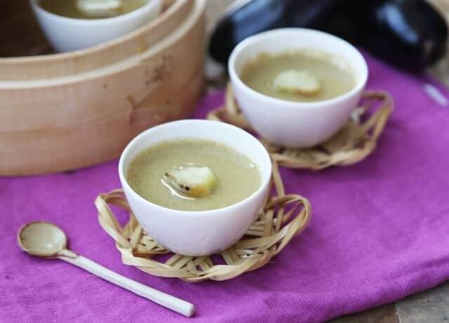 ナスの茶碗蒸し