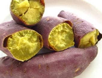 ベニアズマの焼き芋